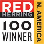 Red Herring Top 100 Winner Logo