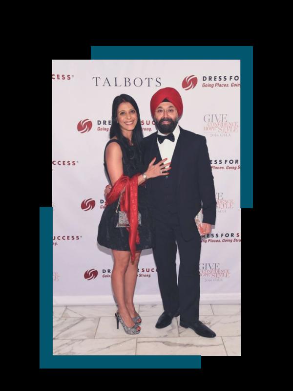 Navjit and Jasmine_Dress for Success